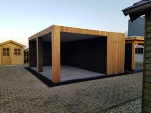 douglas houten tuinhuis met overkapping kopen